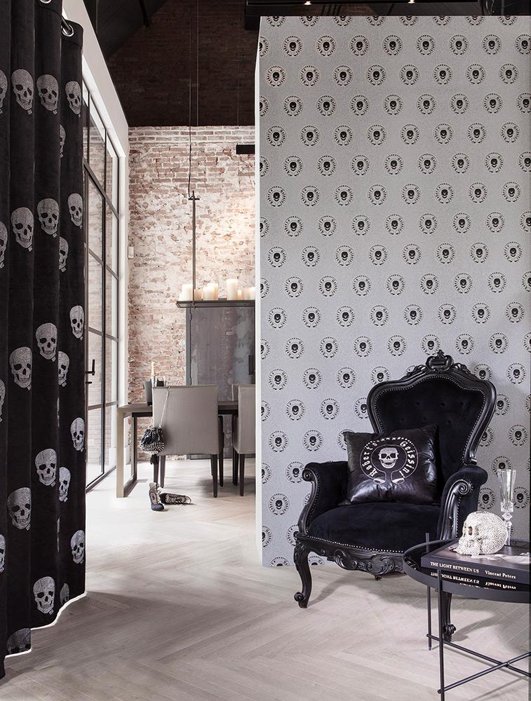 ausgefallen extravagant tapeten magazin. Black Bedroom Furniture Sets. Home Design Ideas